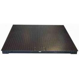 Plataforma MBX 1500 Kg. / 500 gr. medidas: 1500x1500 mm. con Visor BV500