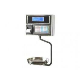 URANO 22 V4 PLUS COLGANTE INOX de 6 Kg de 2 g con Impresora Termica