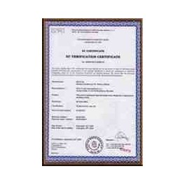 Certificado Calibración DKD (ENAC Alemán) para PCB hasta 4 Kg