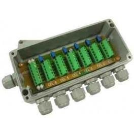 Caja suma IP68 de hasta 8 células