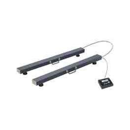Barras pesadoras ZEBRA Inox de 800 mm. de 3000 Kg. / 1000 gr. con Visor K3