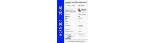 Certificados de Calibración ISO